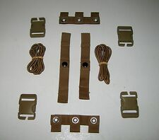 Lot of 2 USMC MTV MODULAR TACTICAL VEST SCALABLE PLATE CARRIER REPAIR KIT COYOTE