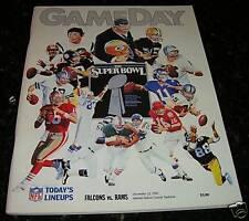 1990 LOS ANGELES RAMS vs ATLANTA FALCONS NFL PROGRAM & TICKET PACKAGE & More