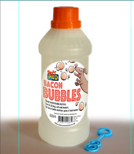 More details for dog bacon flavour dog bubbles - large bottle, 500ml