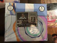 6 Piece Set 1800 Series Bamboo King/Cal King Soft Deep Pocket Bed Sheets