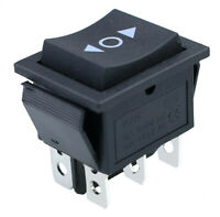 IndusTec DPDT 20A 6 - PIN on off (on) Momentary Maintained Rocker 12V On Off Jog