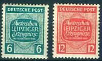 Alliierte Besetzung SBZ  Sachsen 124 Y - 125 Y , ** , * , o , Bfst