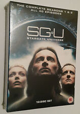 SGU: Stargate Universe Complete Series Season 1 & 2 DVD Box Set - UK SEALED