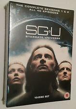 SGU: Stargate Universe Complete Series Season 1 & 2 DVD Box Set - UK SEALED