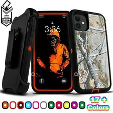 For iPhone 11 / Pro / Max Shockproof Case Cover Belt Clip Fits Otterbox Defender