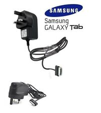 ORIGINALE Samsung UK 3pin Caricabatterie per Galaxy Tab 2 p1000 SERIES BLACK NOTE