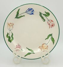 Tiffany Tulips Salad Plate Designed By & Made Exclusively For Tiffany & Co