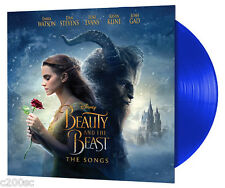 OST - BEAUTY AND THE BEAST: THE SONGS, ORg 2017 EU BLUE vinyl LP, NEW - SEALED!