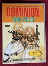 Dominion Tank Police - Act 1-4 (DVD, 1999)