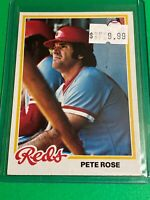 🔥 1978 TOPPS Baseball Card Set #20 🔥 CINCINNATI REDS 🔥 Pete Rose
