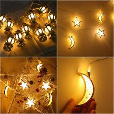 10LED 1,5m Ramadan LED Lichterkette Muslim Islam Eid Mubarak Ramadan Dekoration