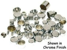 84-03 HARLEY SPORTSTER CHROME ENGINE BOLT COVER CAPS DRESS UP KIT 06479 M