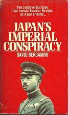 JAPAN'S IMPERIAL CONSPIRACY David Bergamini - WORLD WAR II & EMPEROR HIROHITO
