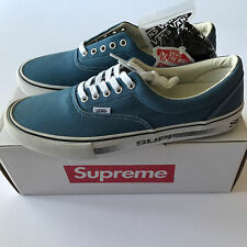 MINT COND Supreme x Vans PRO model Motion Logo Era 12 13 Blue Box Authentic  Navy f29bf9379