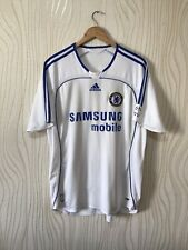 CHELSEA 2006 2008 AWAY FOOTBALL SOCCER SHIRT JERSEY ADIDAS WHITE