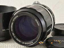 Nikon Nikkor-P 105mm F2.5 Non-Ai [AS IS] from Japan (9463)