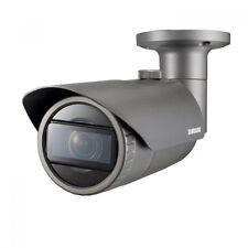 SAMSUNG qno-7080r 4mp HD wisenet RETE IP IR impermeabile telecamera CCTV Bullet