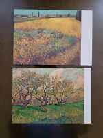 Postcards, Collectibles, Never mailed or written on, Lot of 2, Van Gogh,  1973