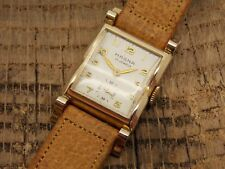 Vintage Antique Swiss Made Magna Norman 10K Rolled Old Plate Watch 17 Jewels