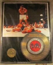 Muhammad Ali RECORD DISPLAY 1 of 1 Statistics engraved on record NEW