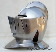 EUROPEAN CLOSED HELMET - MEDIEVAL DISPLAY HELMET Corporate Gift