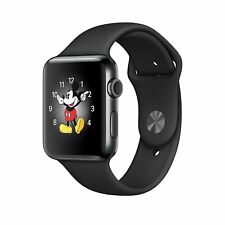 Apple Watch 38mm Stainless Steel/Black Sport | Brand New
