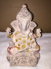 Ceramic/Resin Elephant Head With Four Arms Buddha Style Figurine