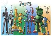 ROBOTS FILMPOSTER / POSTER THE CAST
