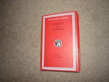 Juvenal and Persius Loeb Classical Library