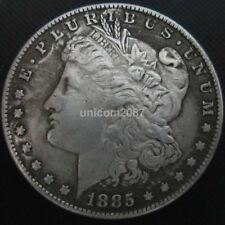 Lustrous USA United States Morgan Dollar 1885 Silver Coin Collection Dollar US