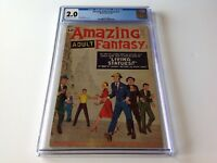 AMAZING ADULT FANTASY 12 CGC 2.0 STEVE DITKO STAN LEE MARVEL COMICS