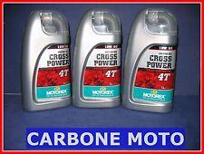 3 LITRI OLIO MOTOREX CROSS POWER 10W60 4T 100% SINTETICO CONSIGLIATO KTM
