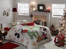 Disney Mickey Mouse Print Duvet Cover Set Pillowcases Bedding 4-Piece Set Quilt