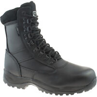 MENS GRAFTERS TORNADO III BLACK LEATHER WATERPROOF SAFETY COMBAT BOOTS M867A KD