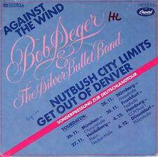 "7"" Bob Seger –  EP: Against The Wind / Tour Edition // Germany 1980"
