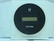 Hour Meter Digital - Round Bezel