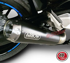 SILENCIEUX ARROW PRO-RACE NICHROM DARK BMW F900 R / XR 2020 - 71729MI+71915PRN