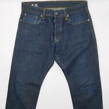G-Star 3301 Tapered 51003 W33 L30 blau Herren Men Designer Denim Jeans Hose