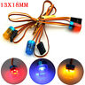 Police Flash Bright LED Light 13MM 5 Modes 360° Rotation for 1/10 Scale RC Cars