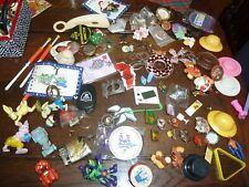 New listing Vintage Lot 82 Junk Drawer Pins Toys Swap Meet Table Christmas Gifts
