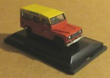 Oxford Diecast LAND ROVER DEFENDER Station Wagon London Vigili del Fuoco scala 1:76