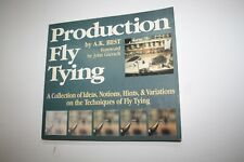 Fishing Book - Production Fly Tying - A.K. Best - 1st Edition