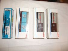 Lot of 4 Marklin HO Container Flat Cars