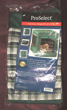 ProSelect XL Dog Crate Cover Green Plaid 49 x 31 x 35 NEW