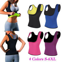 Women Sweat Sauna Body Shaper Neoprene Vest Slimming Waist Trainer Shapewear Hot