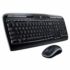 Logitech Wireless Desktop MK320 Cordless Keyboard & Mouse 920-002836