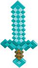 Minecraft Foam Diamond Sword Size 20