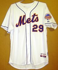 NEW YORK METS IKE DAVIS 2013 WHITE BUTTON-DOWN AUTHENTIC JERSEY