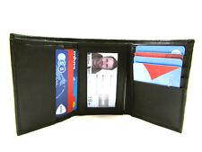 pour hommes femmes cuir noir carte de crédit Support Porte-feuille PORTEFEUILLE