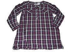 La Redoute tolle Long Bluse Gr. 128 schwarz-lila kriert !!